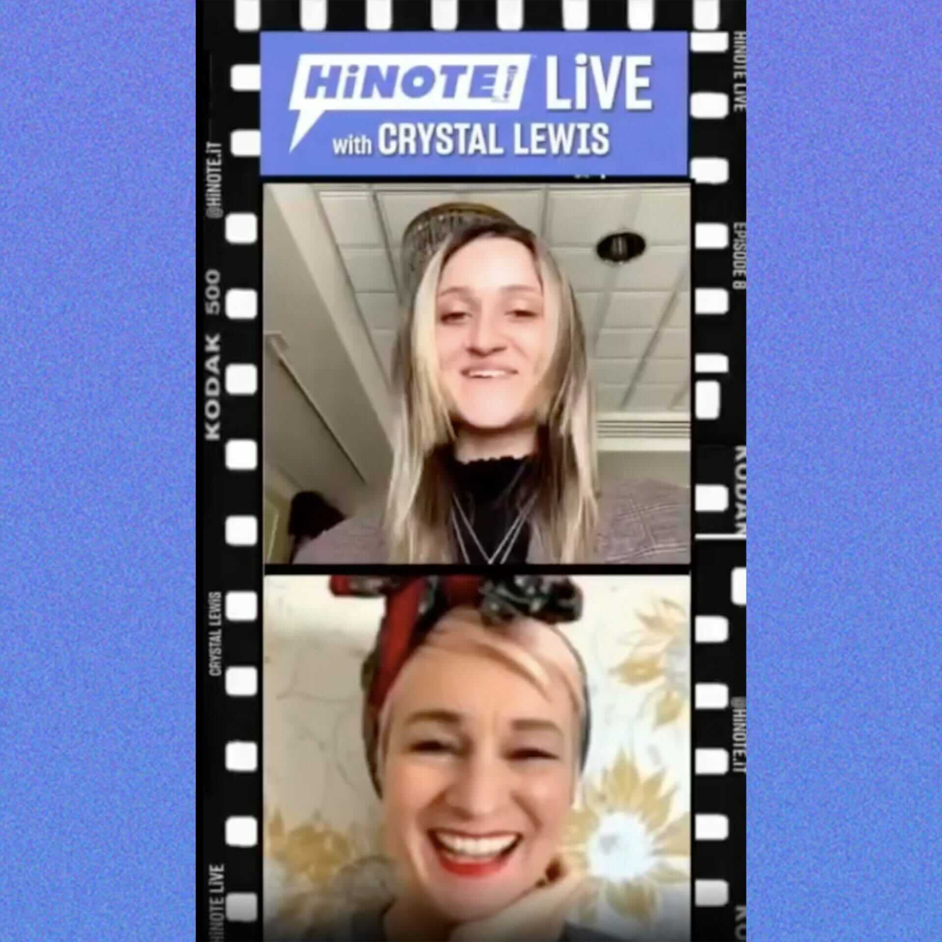 HiNOTE LiVE #9 with Crystal Lewis